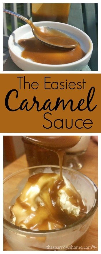 This easy caramel sauce is perfect to whip up for a spontaneous ice cream sundae.