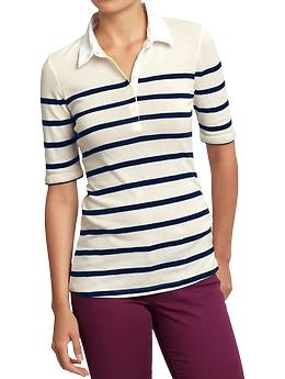 Women 39 s striped jersey rugbys old navy this shirt for Old navy school shirts