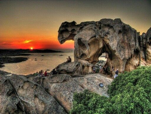 Bear Rock; Palau, Sardinia