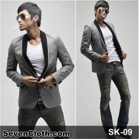 jual jas blazer jaket korea murah online (sk 09)