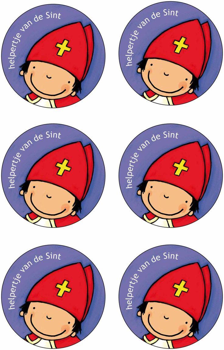 Medaille Helper van de Sint, uit het boek, Klaasje, Sinterklaasje, Kathleen Amant