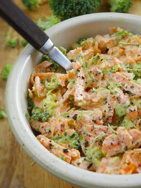 Surówka z marchewki i brokuła | sio-smutki! Monika od kuchni
