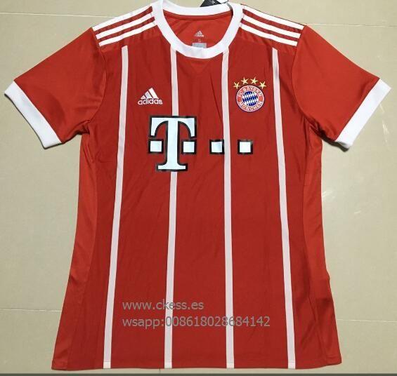 1718 Palmeiras hogar S-XL 1718 Corinthians casa blanca de manga corta S-XL 1718 modelos multi hogar camiseta amarilla S-4XL 1718 Bayern casa camiseta roja S-4XL