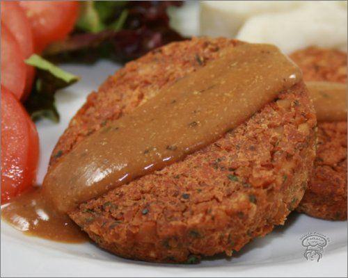 Burger steak de pois chiches