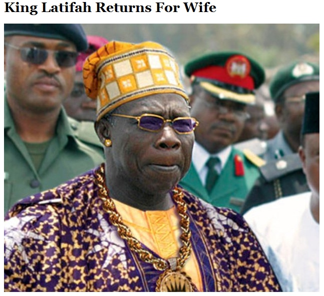 King Latifah Returns for Wife
