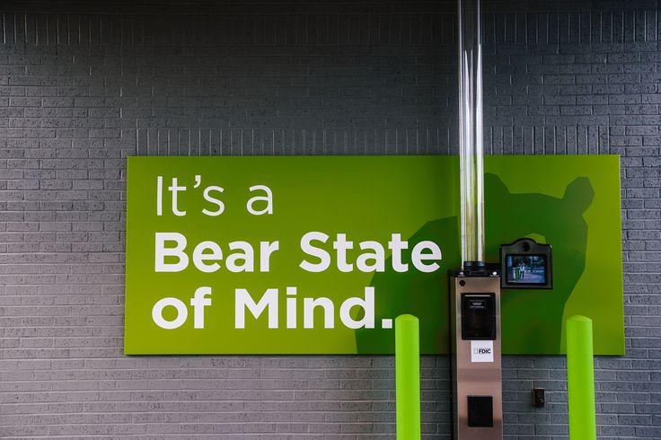 Drive-up banking 8:30 to 4:30 weekdays
