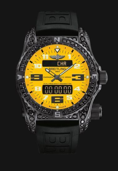 O meu Breitling sob medida - Breitling Emergency - Relógio suíço com baliza de emergência