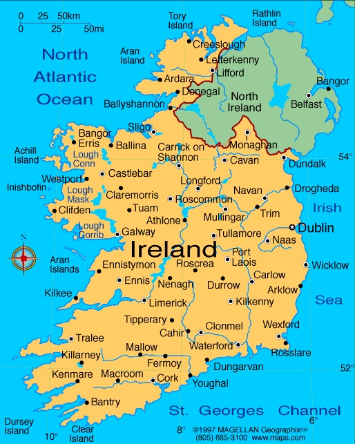 22 best location where you are from images on pinterest world map of ireland a special country in europe because it is its own island northern ireland is part of great britain it is relatively small island at only gumiabroncs Image collections