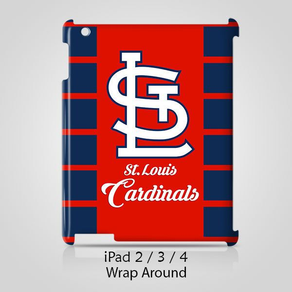 St. Louis Cardinals iPad 2 3 4 Case