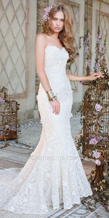 100 best Wedding Dresses. images on Pinterest | Wedding frocks ...