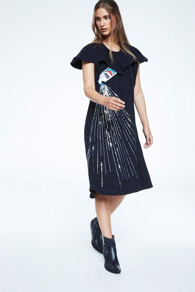 bernhard willhelm dress photographed by marissa findlay for blkonblk #5