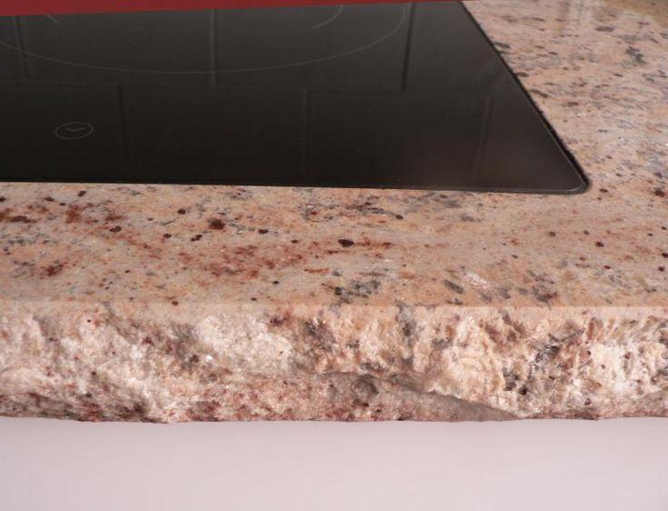 Shivakashi granit hochglanz poliert mit bossierter kante for Granito shivakashi