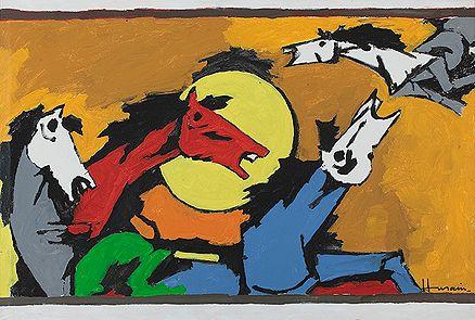 Maqbool Fida Husain Untitled