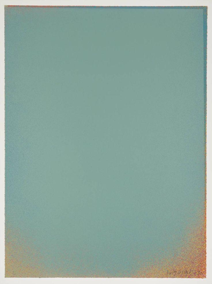 // Jules Olitski, Pale Blue II, 1970