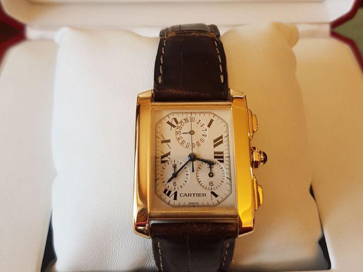 Продажа золотые часы Cartier Tank Francaise  1830 в Киеве!  http://goldclub.in.ua/item/cartier-tank-francaise-1830_2840.html