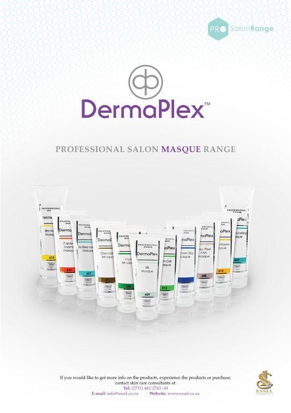 DermaPlex Professional Salon Masque Range