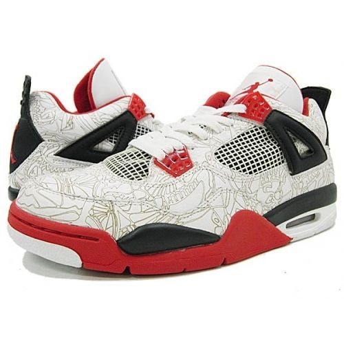 Air Jordan 4 Retro Laser Varsity Red
