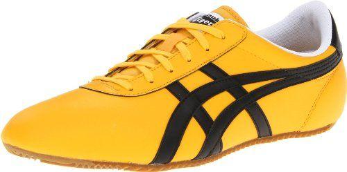 Onitsuka Tiger Tai Chi Le Fashion Sneaker -- Yellow/Black
