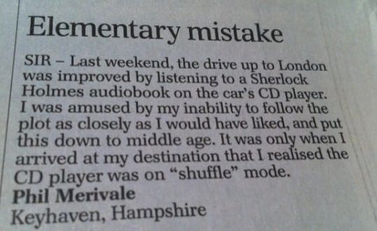 Community Post: 14 First World Problems As Told By The Daily Telegraph's Letters Page