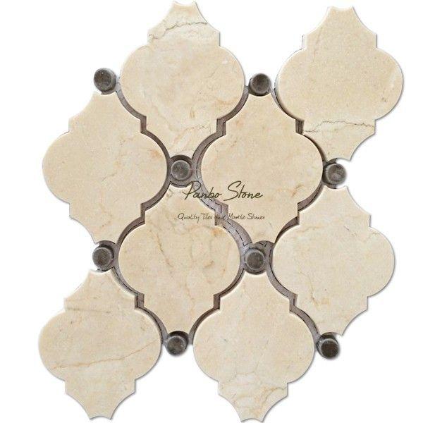 crema marfil marmer tegel arabesk lantaarn mozaïek tegel-marmer-product-ID:60101655584-dutch.alibaba.com