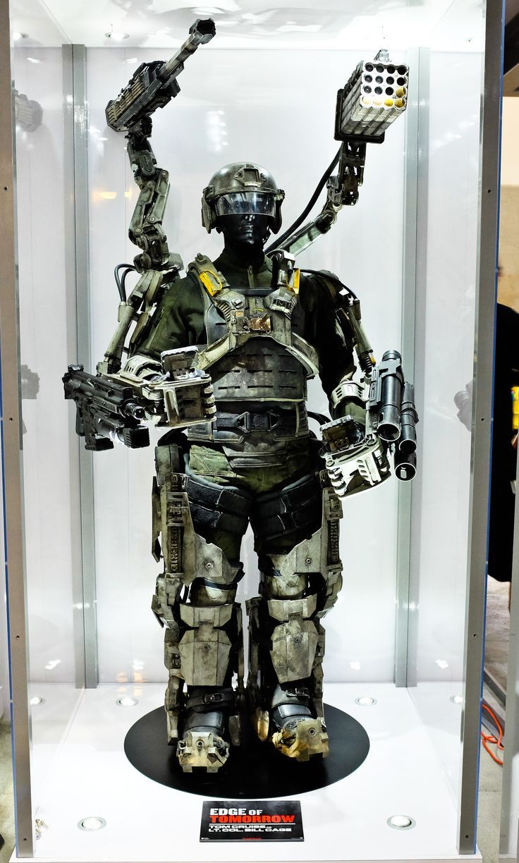 edge of tomorrow costume exo suit, Edge of Tomorrow