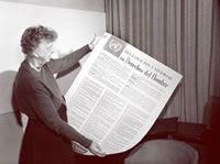 Histoire de la rédaction de la Déclaration universelle des droits de l'homme