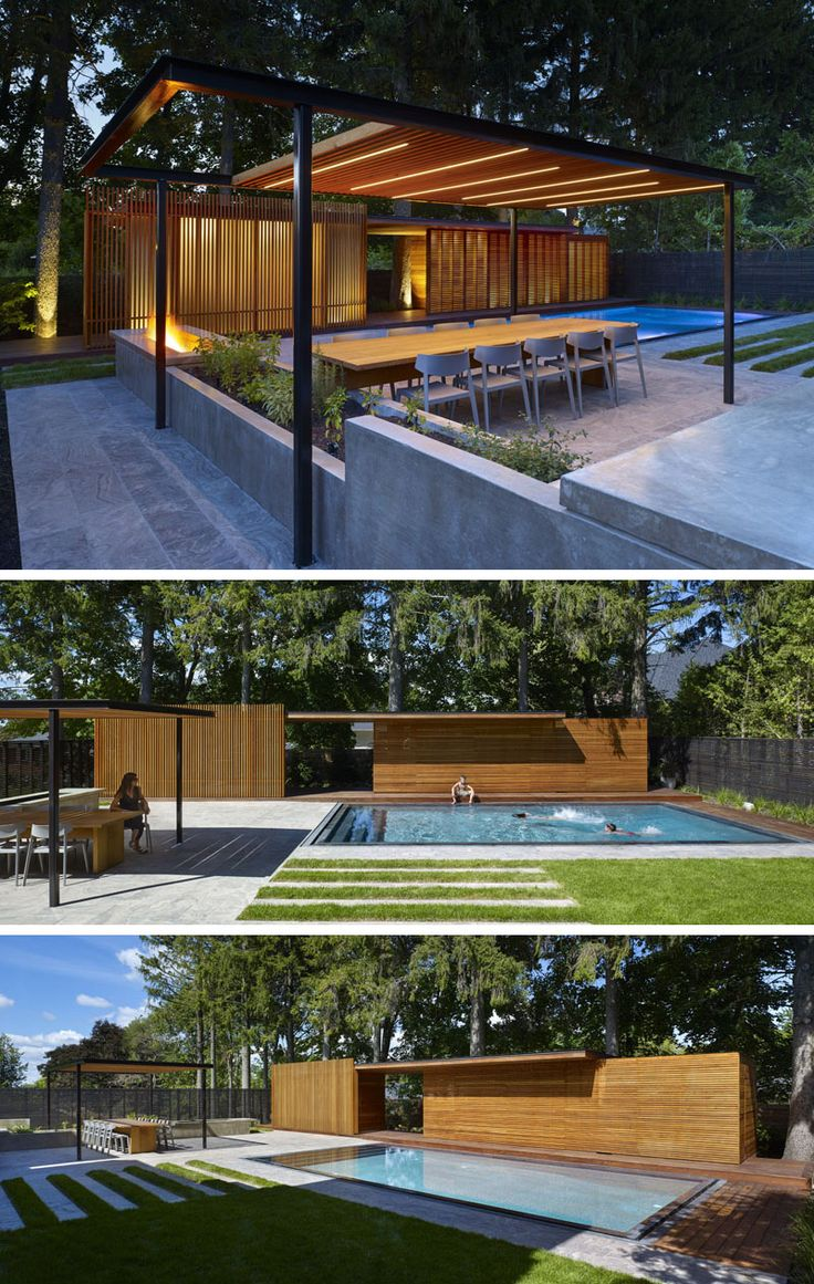 Best 25+ Modern pool house ideas on Pinterest | Modern pools, Prefab pool  house and Pools
