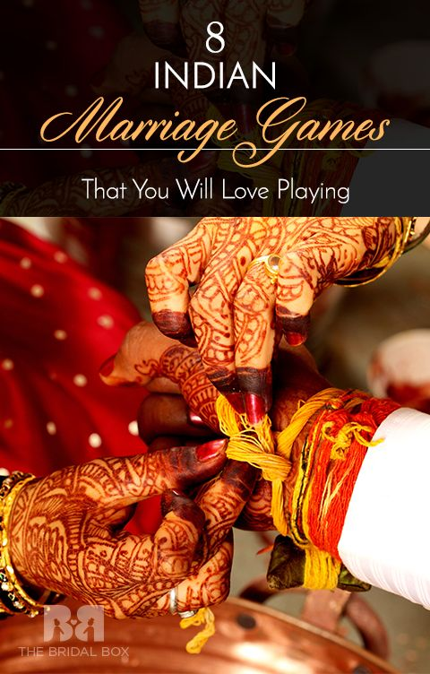 Indian Marriage Games Top 8 That You Will Love Playing