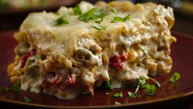 Slow-Cooker Chicken Broccoli Lasagna | Recipe | Lasagna ...