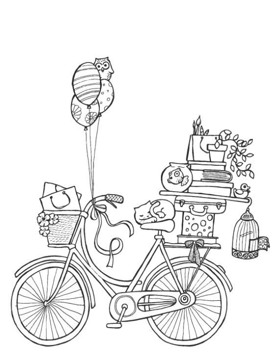"""Illustraties voor de verhuizing van """"il Gufo"""" winkel in Milaan"""