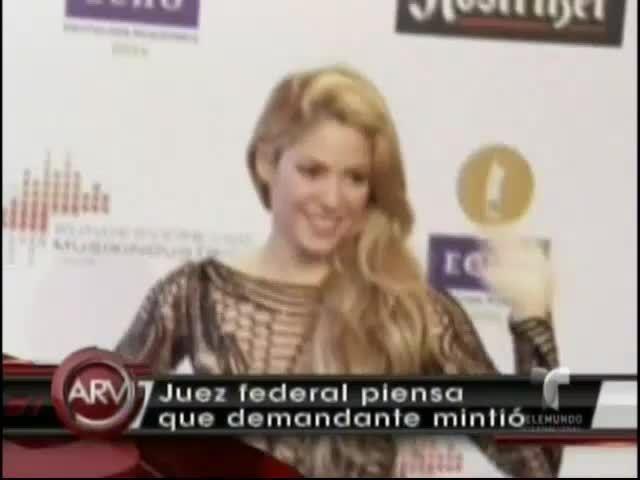 """Juez Considera Que Es Falsa La Denuncia De Plagio De """"Loca"""" De Shakira #Video"""