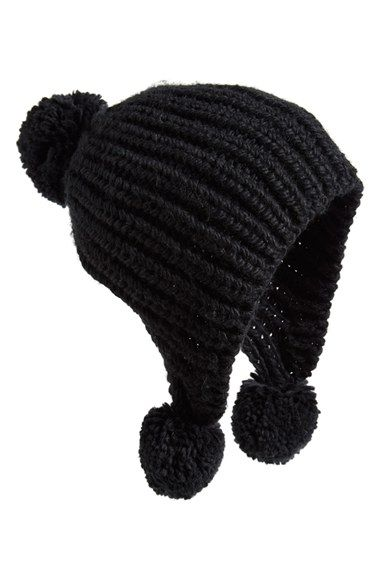 Free shipping and returns on Billabong 'Bonfire Daze' Beanie at Nordstrom.com. A trio of fluffy pompoms styles a playful beanie knit from soft, chunky yarns.