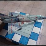 IAI Kfir Free Aircraft Paper Model Download