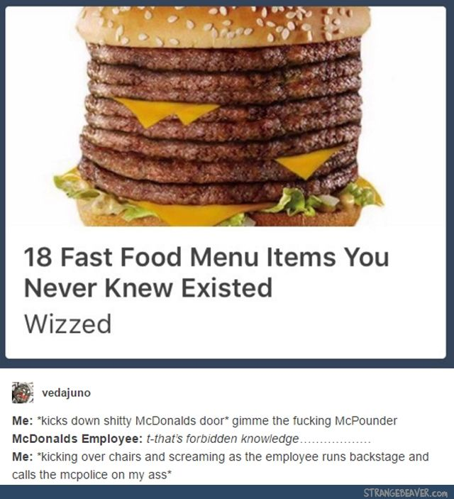 Best McDonalds Images On Pinterest Haha Cool Stuff And - 20 mcdonalds meals didnt even know existed