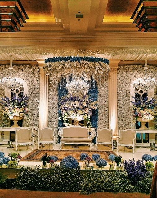 A spectacular wedding at Grand Hyatt Jakarta. Photo courtesy of Hafis Lifinanda.