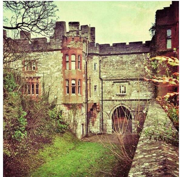 Ruthin Castle - Wales