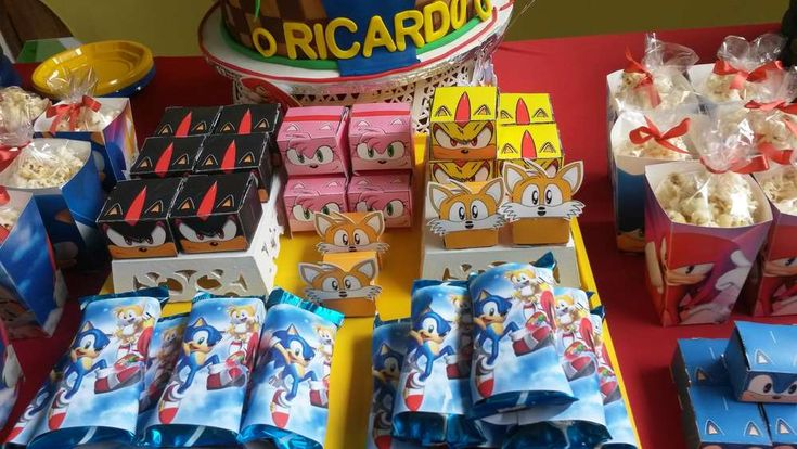 SONIC Birthday Party Ideas | Photo 1 of 13