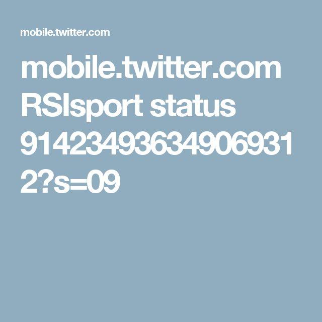 mobile.twitter.com RSIsport status 914234936349069312?s=09