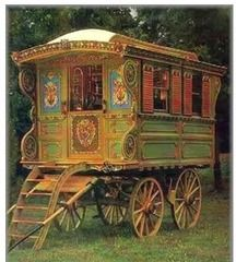 Great article, very detailed about vardos and showman waggons.