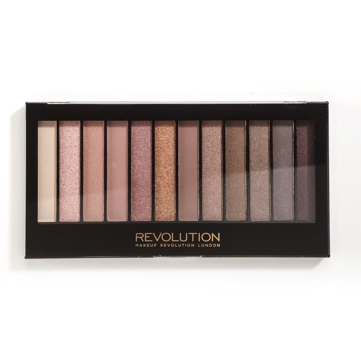 Makeup Revolution - Iconic 3 Eyeshadow Palette ($6.30) *Dupe for Urban Decay's Naked 3 Palette*