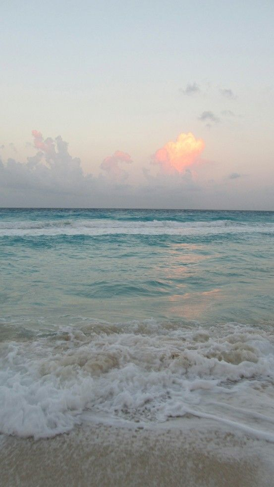 """""""...science has proven/  That heartaches are healed by the sea."""""""