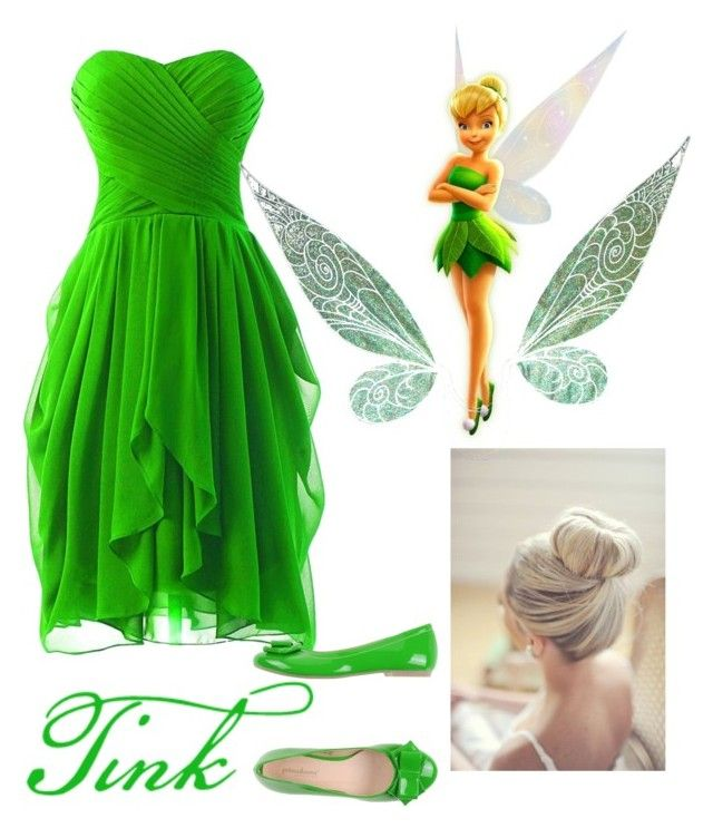 """Tinkerbell fancy dress"" by grace-grainne-corcoran on Polyvore featuring PrimaDonna"