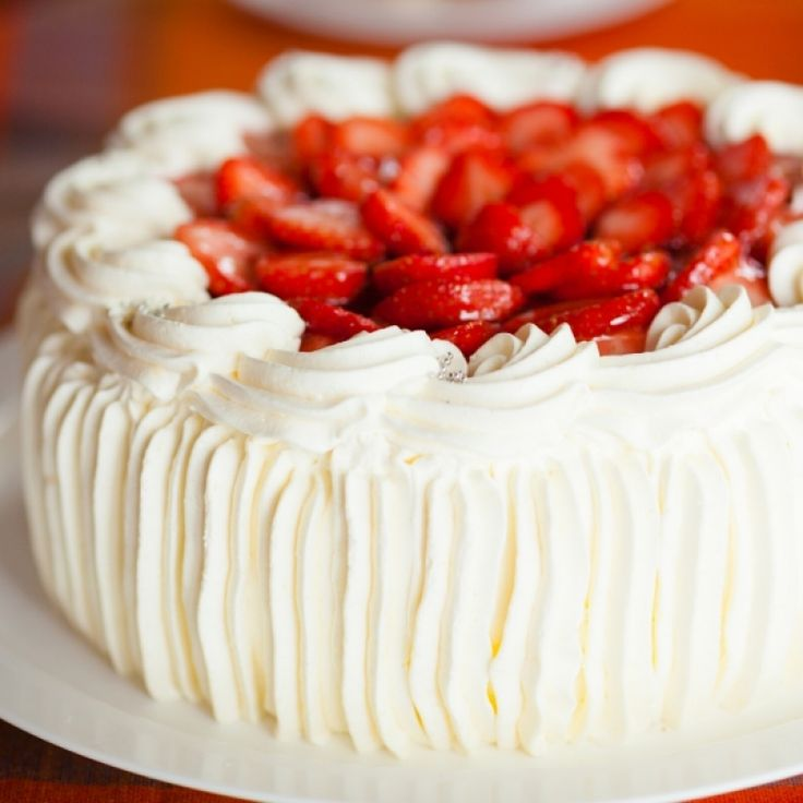 A fluffy buttercream frosting recipe that has a wonderful texture and color.