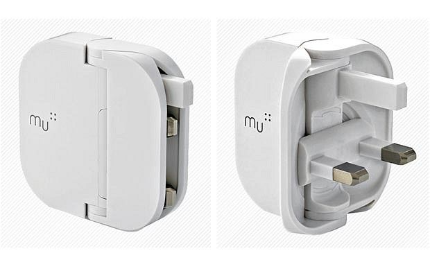 The Mu Plug USB Charger. I'm waiting for the folding plug that charges my Macbook Air.