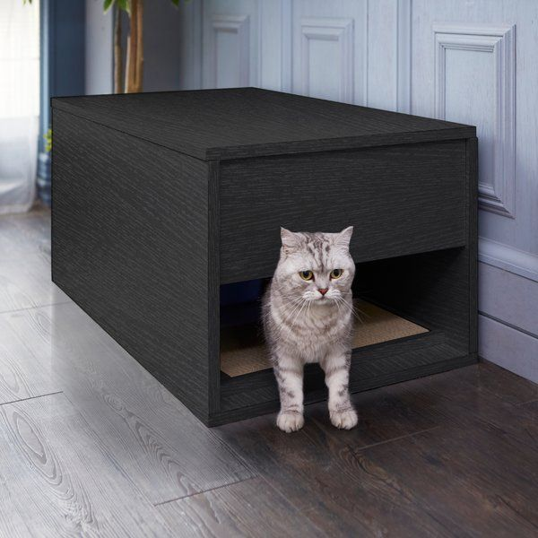 Pin By Ellen Levinthal On Meow In 2020 Litter Box Cat Litter Box Hiding Cat Litter Box