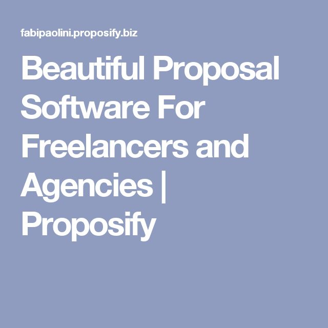 Beautiful Proposal Software For Freelancers and Agencies | Proposify