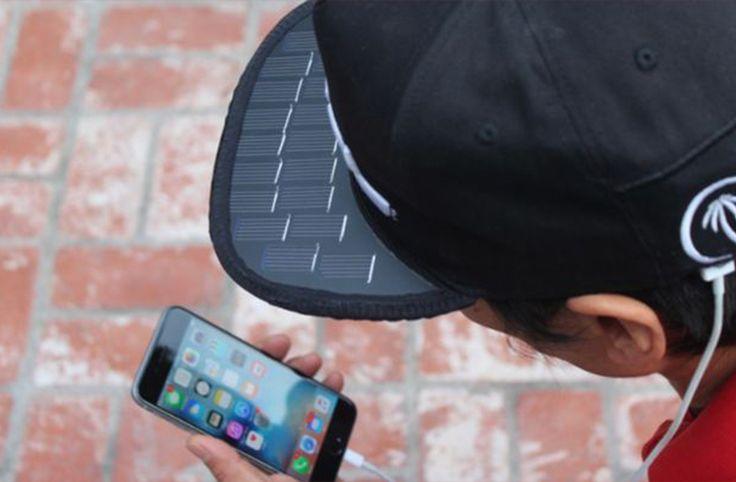 Güneş panelli şapka ile telefonunuzu şarj edebiliyorsunuz - https://teknoformat.com/gunes-panelli-sapka-ile-telefonunuz-sarj-edebiliyorsunuz-10692