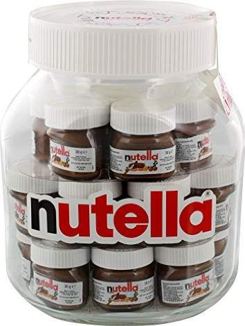 Nutella Big Jar XXL Glas 21x30g (Chocolate Wallpaper Wallpapers)