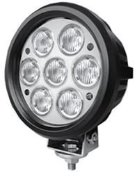 Work, Spot, Flood Light LED 70W  Operating Voltage: 10-30V DC  Waterproof rating: IP 67  7*10w high intensity Cree LEDs  Luminous Flux 5600lm  Color Temperature: 6000K  Option Colour Black or White  Material: Die cast aluminum housing  Lens material: PC  Mounting Bracket: Stainless Steel  Optional Beam: 60 or 30 degree  Expected Life 30000+ hours  Certificates: CE RoHs