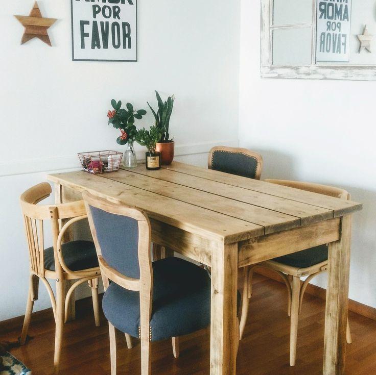 M s de 25 ideas incre bles sobre sillas restauradas en - Mesas de comedor restauradas ...